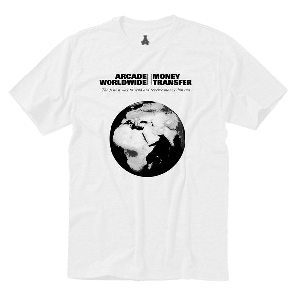 Money Transfer Tee (White)