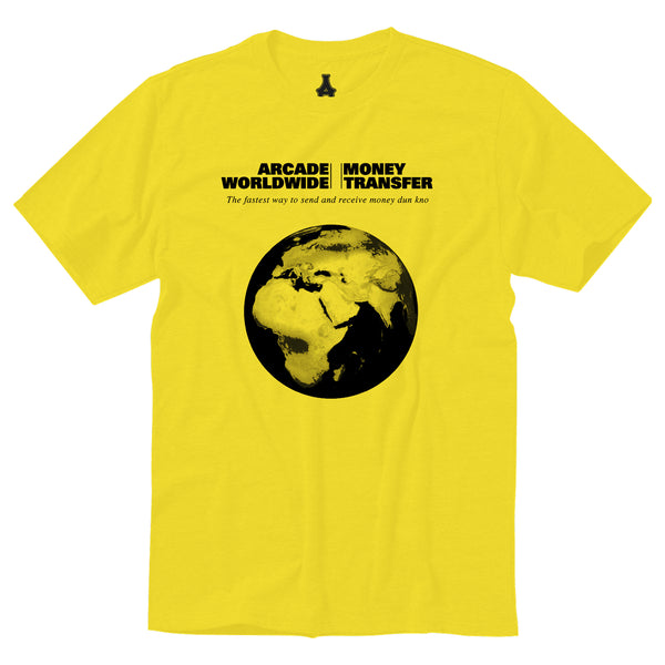 Money Transfer Tee (Yellow)
