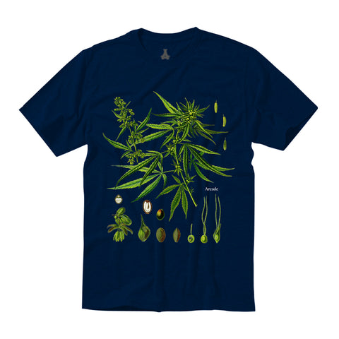 Personal Growth Tee (Navy)
