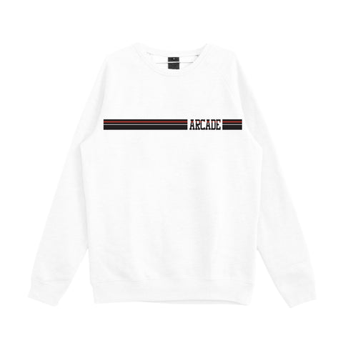 Stripe Crew (White)