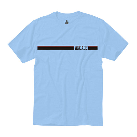 Stripe Tee (Light Blue)