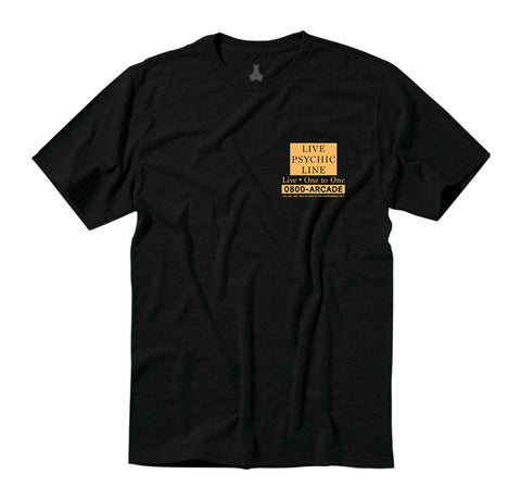 Arcade Hotline Tee - Black/Yellow