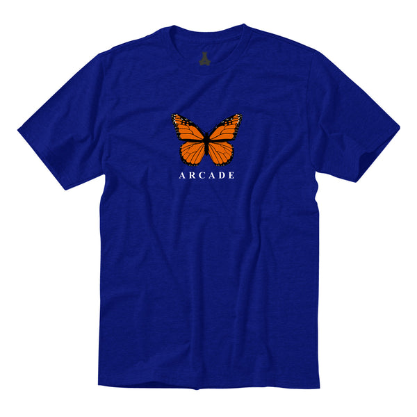 Butterfly Tee Royal Blue