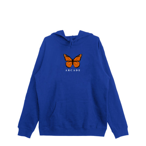 Butterfly Hood Royal Blue