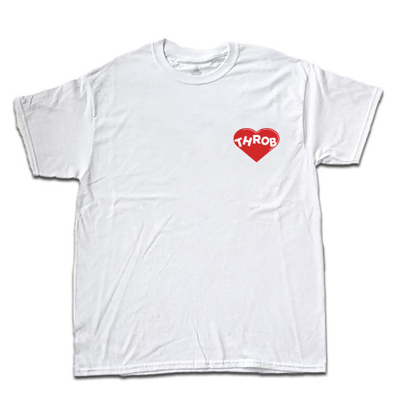 Heart Throb Tee (Sensitive White)