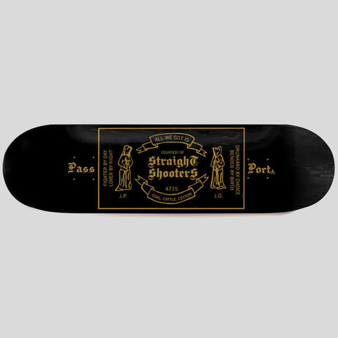 PassPort - Straight Shooters Deck 8.125""