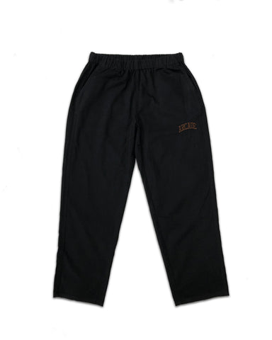 Cotton Drill Relaxed Pant Black