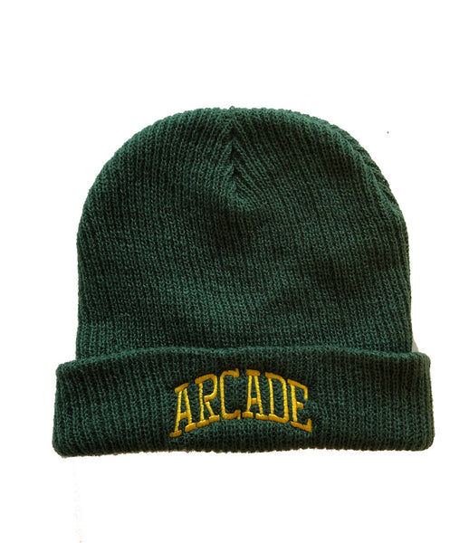 Green Fisherman's Beanie