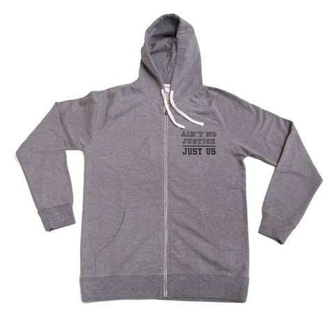 Arcade - Lady Injustice Hood Zip (grey)