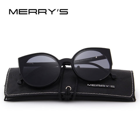 Retro cat eye dames zonnebril van Merry's