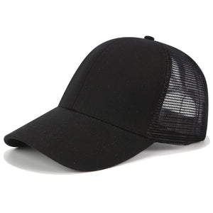 Baseball Cap with Ponytail Hole