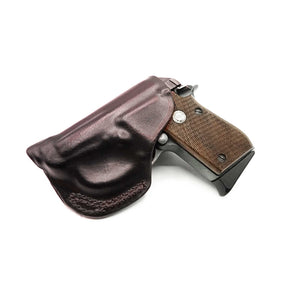 Below the Waistband Clip Gun Holster - Kramer Leather