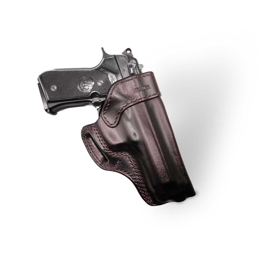 Cross Draw Gun Holster - Kramer Leather