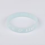 BTS  Luminous Wristband Bracelet