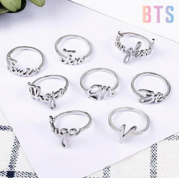 BTS Fashion Members Ring