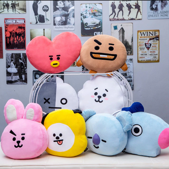 BTS Member Soft Plush Pillow BT21
