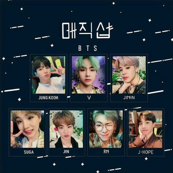 BTS FM 5th Muster Photo Cards