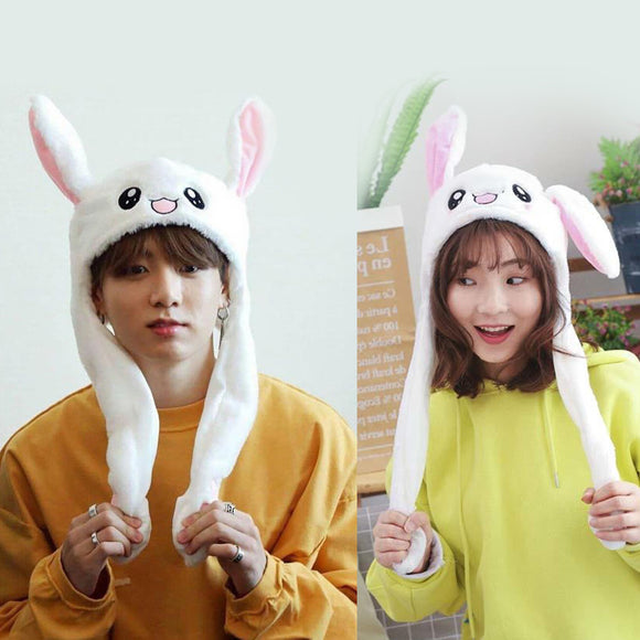 BTS  Bunny Hat Moving Ears