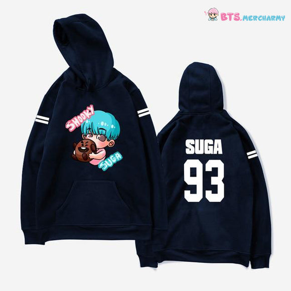 BTS Member Cute Cartoon Hoodie