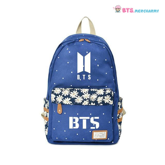 BTS Colorful Student Backpacks