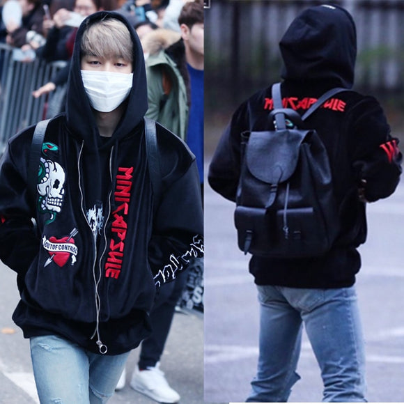 BTS  JIMIN Fashion Zipper Jacket