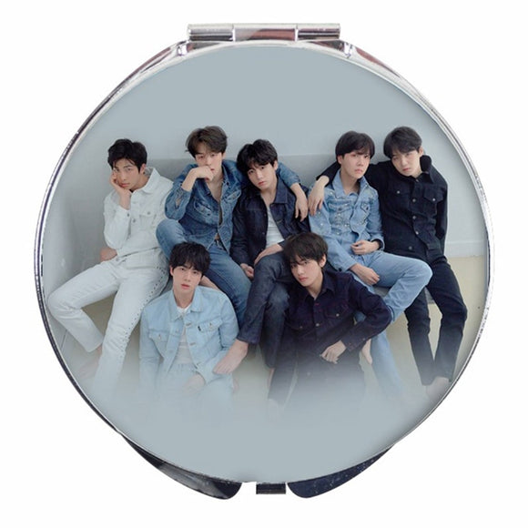 BTS Foldable MakeUp Mirror