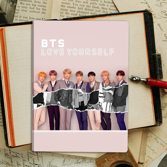 Love Yourself BTS Notebook