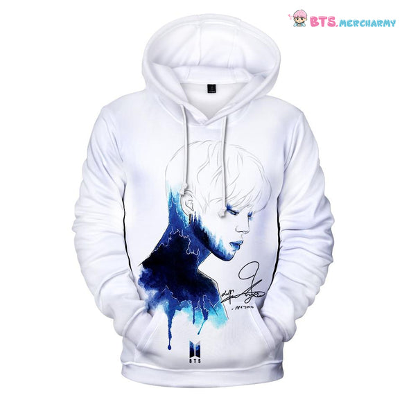 BTS Printed 3D Hoodies