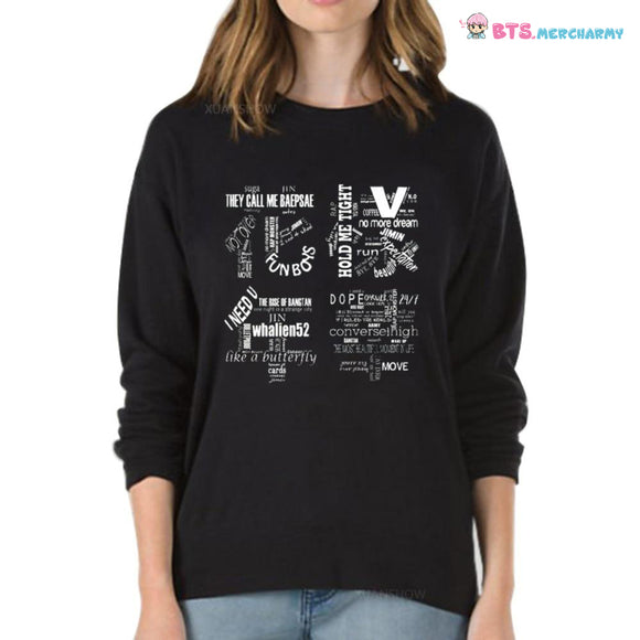 BTS Exclusive Song Name Sweater