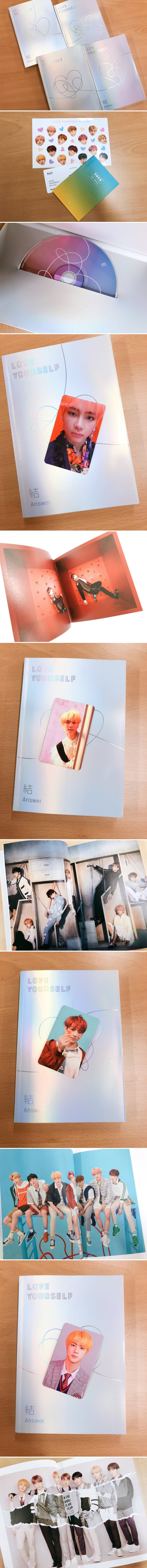BTS Official LOVE YOURSELF / ANSWER Album Set CD – BTS mercharmy