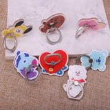 BTS BT21 Cute Smartphone Holder Ring