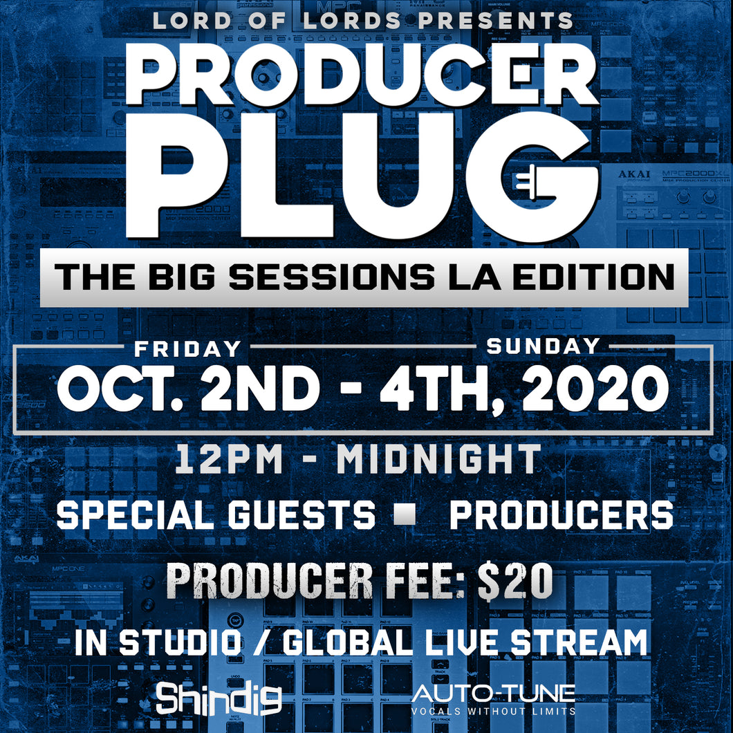 THE BIG COOK SESSIONS IN LOS ANGELES STUDIO / GLOBAL LIVE STREAM (IN REAL TIME)