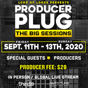 THE BIG COOK SESSIONS 4 IN STUDIO / GLOBAL LIVE STREAM (IN REAL TIME)