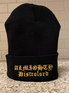 "DISTROLORD ""ALMIGHTY"" SKULLY (BLACK)"