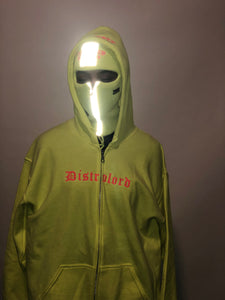 """ALMIGHTY DISTROLORD"" SKI MASK (VOLT)"