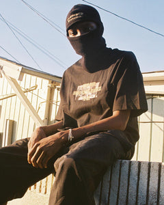 """ALMIGHTY DISTROLORD"" SKI MASK (BLACK)"