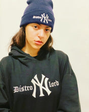"Load image into Gallery viewer, DISTROLORD ""NY"" STATE OF MIND BLACK (HOODIE)"