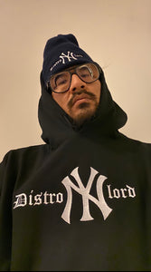 "DISTROLORD ""NY"" STATE OF MIND BLACK (HOODIE)"