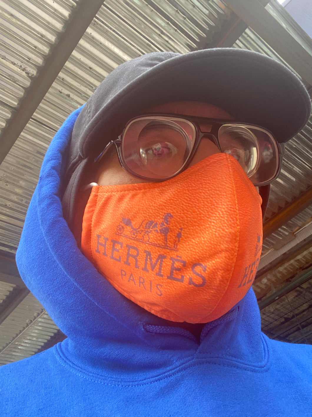 DISTROLORD X HERMÈS MASK