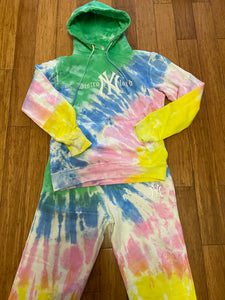 DISTROLORD NY TIE DYE SWEATER SUIT