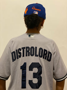 "DISTROLORD "" 7 "" SUBWAYSERIES SQUAD UP NIKE JERSEY AUTHENTIC"