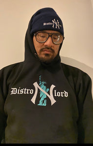 "DISTROLORD ""NY"" STATUTE OF LIBERTY BLACK (HOODIE)"