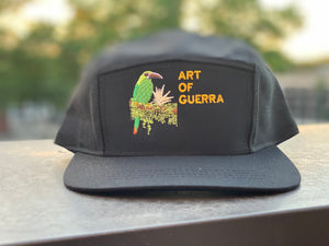 "ART OF GUERRA "" AMAZON WARFARE"" BLACK 5 PANEL SNAP"