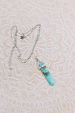 Amazonite Sterling Silver DT Pendant