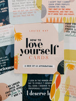 How to Love Yourself - Affirmation Cards