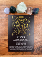 Pisces - Zodiac Crystal Set
