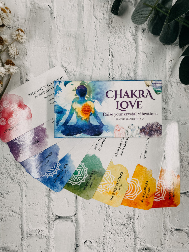 Chakra Love - Mini Affirmation Cards