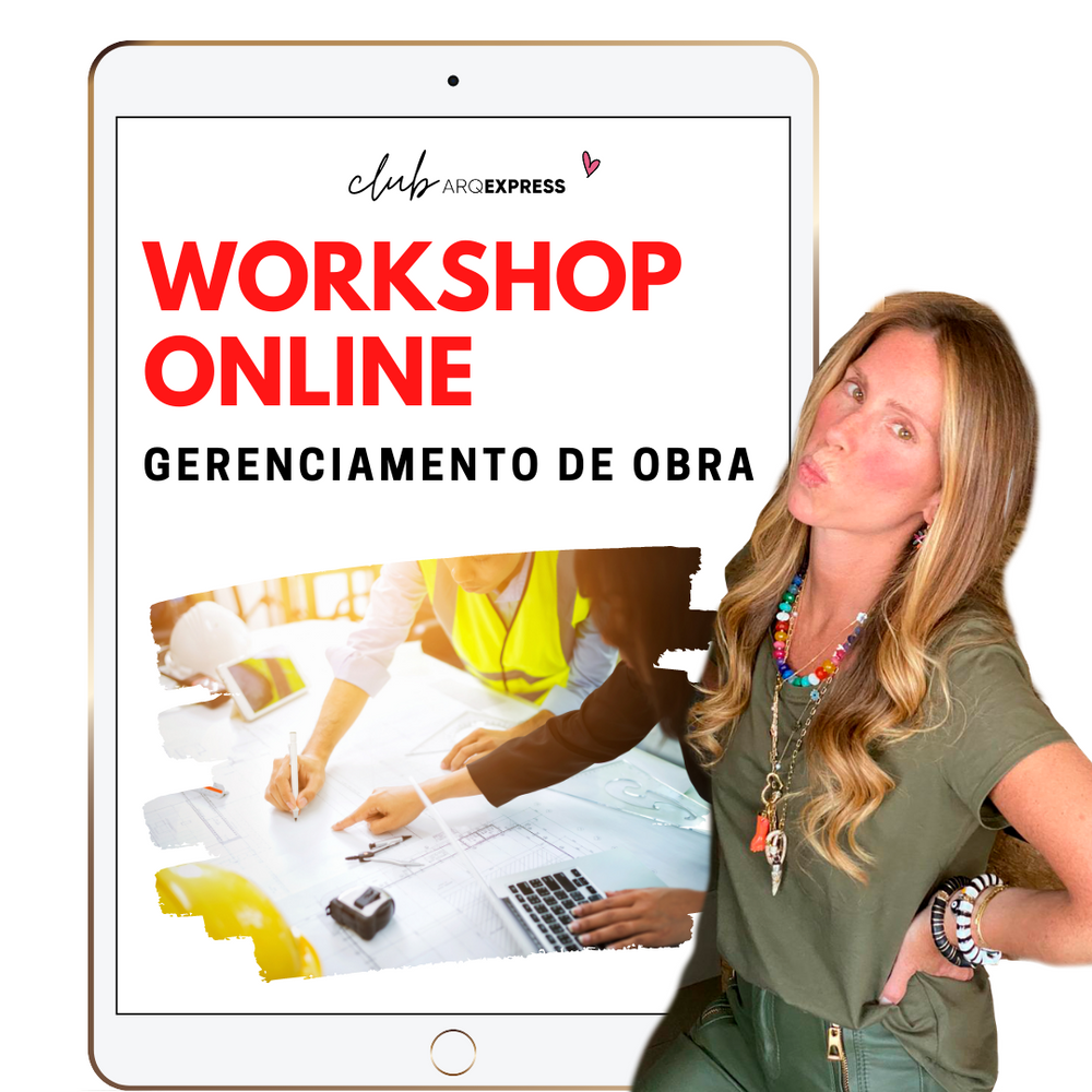 Workshop Online - Gerenciamento de Obra