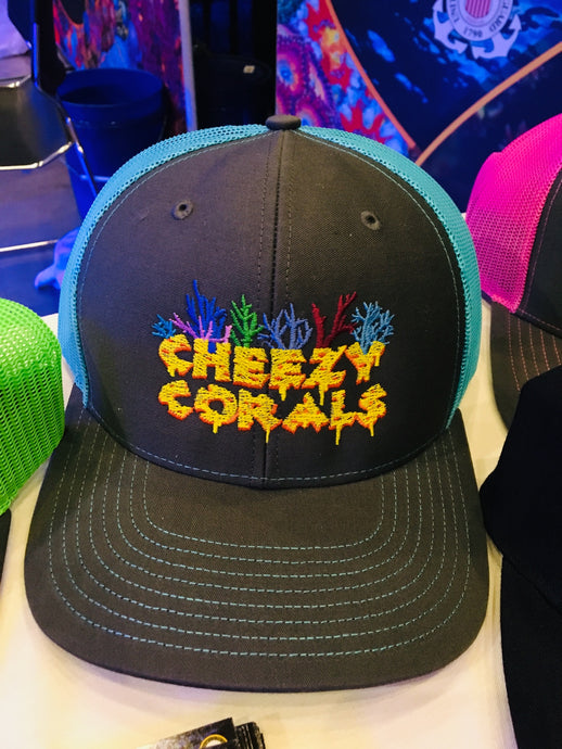 Cheezy Corals Trucker Hat