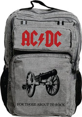 ACDC Premium Backpack for Those About to Rock design
